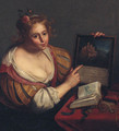 A personification of vanity - (after) Paulus Moreelse