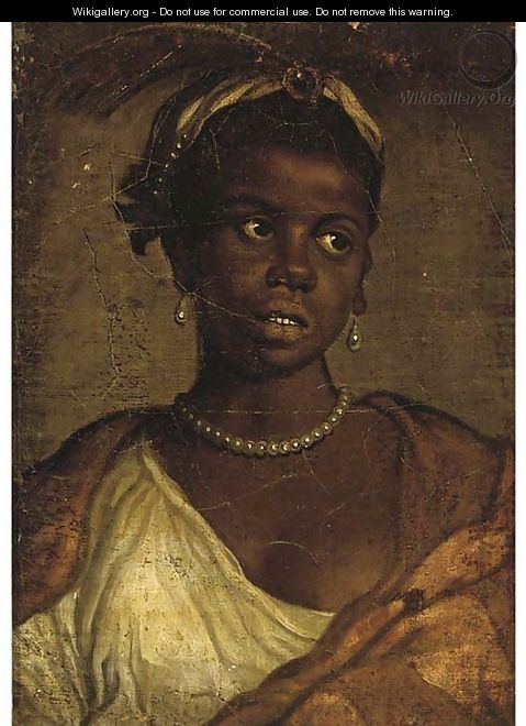 Portrait of a Moorish woman - (after) Paolo Veronese (Caliari)