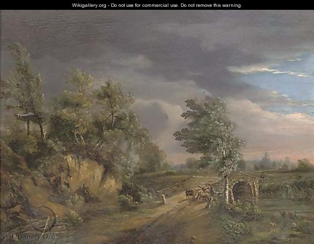The incoming storm - (after) Philip Jacques De Loutherbourg