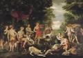 The hunting party of the goddess Diana - (after) Rubens, Peter Paul