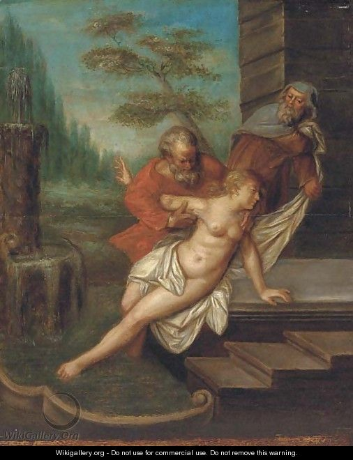 Susannah and the elders - (after) Rubens, Peter Paul
