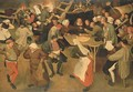 The Wedding Dance in the Barn - (after) Pieter The Younger Brueghel