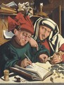 Two tax gatherers 3 - (after) Marinus Van Reymerswaele