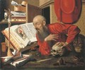 Saint Jerome in his Study - (after) Marinus Van Reymerswael