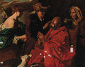 The Healing of the blind Tobias - (after) Matthias Stomer