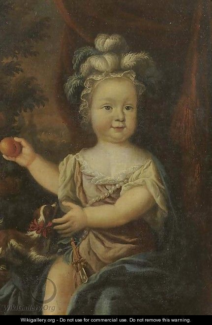 Portrait of a young girl - (after) Nicolaes Maes