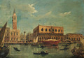 The Bacino of the Grand Canal, Venice, looking towards the Piazzetta and the Doge's Palace - (after) Michele Marieschi