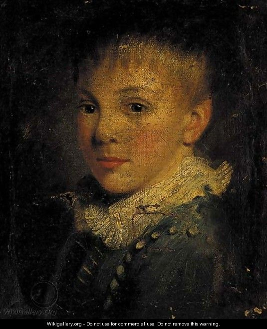 Portrait of a young boy - (after) John Opie