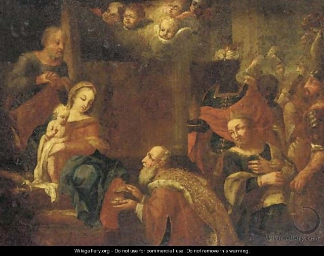 The Adoration of the Magi 2 - (after) Joseph The Elder Heintz