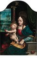 The Madonna of the Cherries - (after) Cleve, Joos van