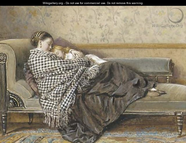 The afternoon rest - George Goodwin Kilburne