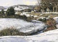 River Scene, Winter - George Gardner Symons