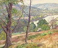 Hill Top View of the River - George Gardner Symons