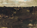 Manouevres in the dunes - George Hendrik Breitner