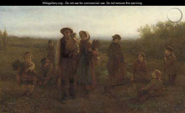 Hop Pickers - George Henry Boughton