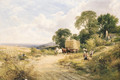 Carting the Ripe Harvest, Coombe - George Cole, Snr.