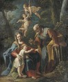 The Rest on the Flight to Egypt - Gaspare Diziani