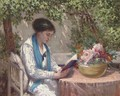 A read in the garden - Gennaro Befanio