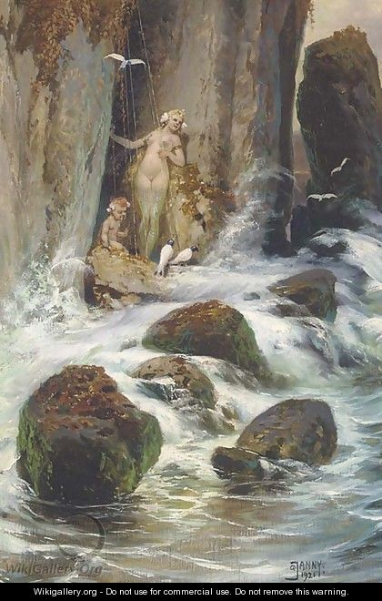 The mystical gorge - Georg Janny