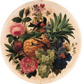 Still lifes of fruits and flowers - French School