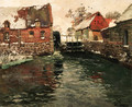 Le Moulin eau (The Windmill) - Fritz Thaulow
