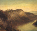 An extensive River Landscape - French School
