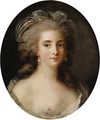 Portrait of a Lady, bust length, en deshabill - French School