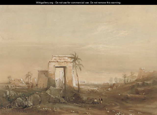 Ruins of Thebes - Frederick Catherwood