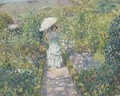 The Garden Path - Frederick Carl Frieseke