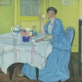 The Breakfast Room - Frederick Carl Frieseke