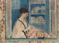 Sadie in the Window - Frederick Carl Frieseke