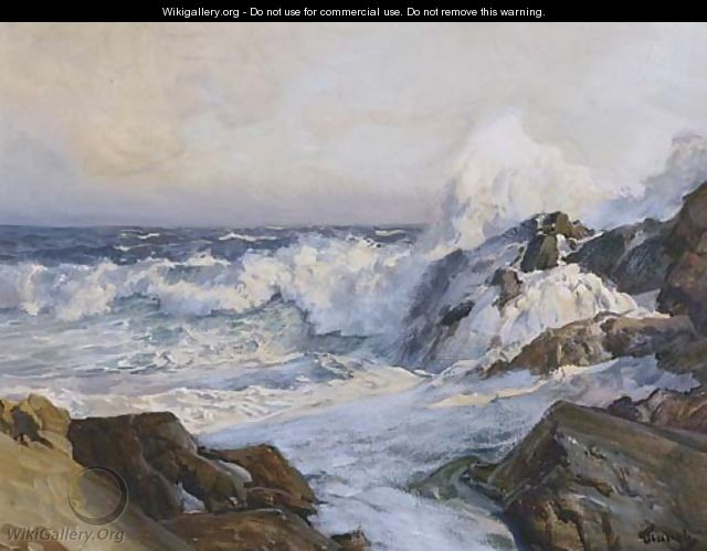 The Inlet - Frederick Judd Waugh