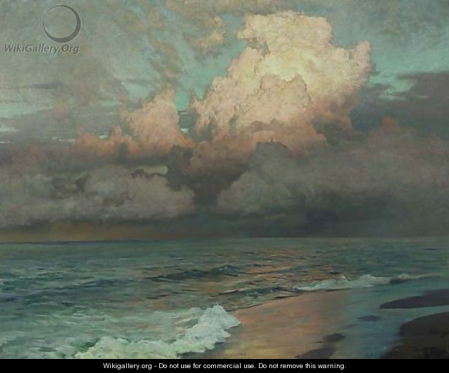 Ebbing Waters - Frederick Judd Waugh