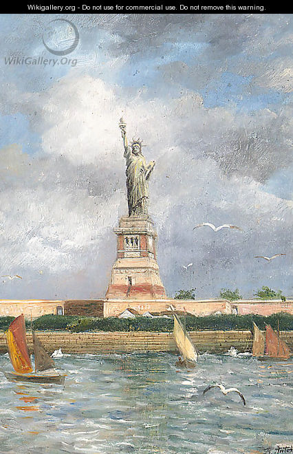 The Statue Of Liberty - Franz Antoine