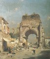 Gateway to Naples - Franz Richard Unterberger