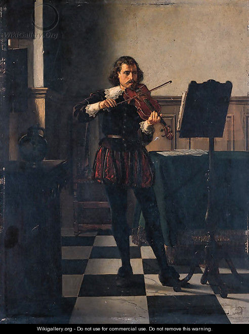 The Violinist - Franz Moormans