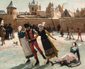 The Skaters - Franz Kaspar Huibrecht Vinck