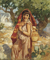 The Water Carrier - Frederick Arthur Bridgman