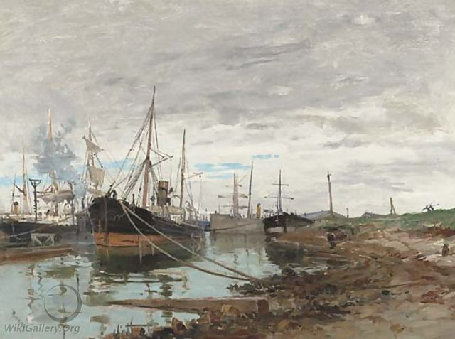 On the Quay - Frank Myers Boggs