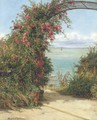 A garden by the sea - Frank William Warwick Topham