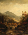 Autumn Landscape with River - Joseph Antonio Hekking
