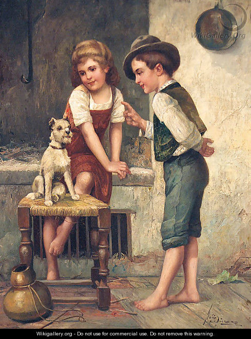 Teaching The Dog Tricks - Josef Susser