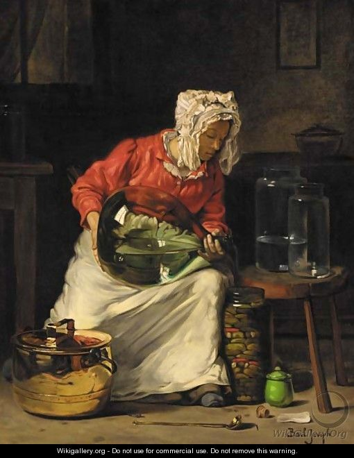 Preparing the jars - Claude Joseph Bail