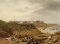 Cullercoats from the South - James Wilson Carmichael