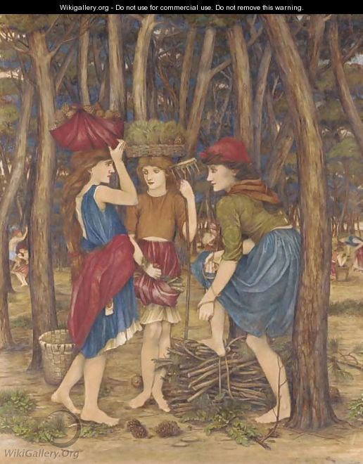 The pinewoods of Viareggio - John Roddam Spencer Stanhope