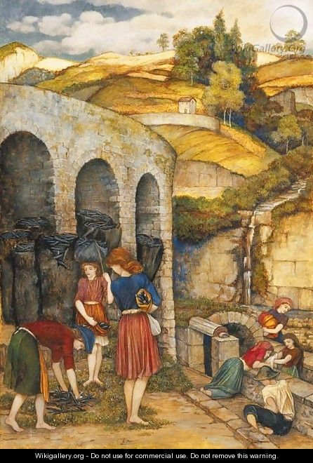 Charcoal Thieves - John Roddam Spencer Stanhope
