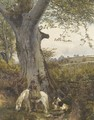 The Edge of the wood - John Sargeant Noble, R.B.A.