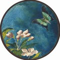 Apple Blossoms and Butterfly - John La Farge