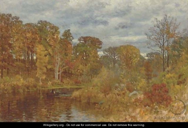 On The Neponset River - John Joseph Enneking