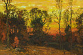 November Sunset - John Joseph Enneking